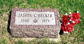BECKER, JASPER CLAIRE - Henry County, Iowa | JASPER CLAIRE BECKER