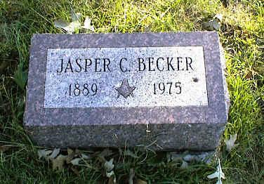 BECKER, JASPER C. - Henry County, Iowa | JASPER C. BECKER