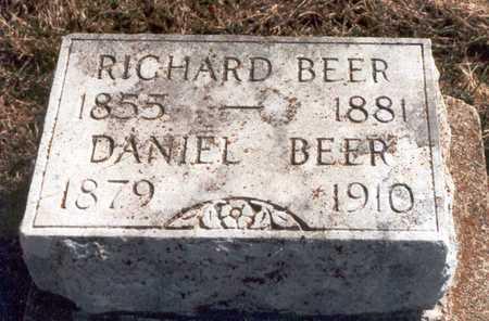 BEER, DANIEL - Henry County, Iowa   DANIEL BEER