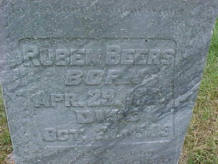 BEERS, REUBEN - Henry County, Iowa | REUBEN BEERS