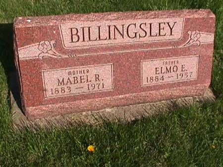 BILLINGSLEY, MABEL R. - Henry County, Iowa   MABEL R. BILLINGSLEY