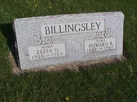 BILLINGSLEY, HOWARD B. - Henry County, Iowa   HOWARD B. BILLINGSLEY