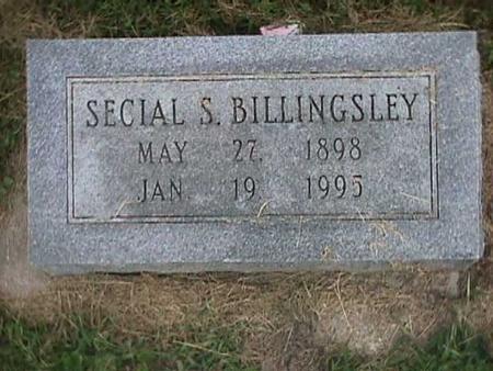 BILLINGSLEY, SECIAL - Henry County, Iowa | SECIAL BILLINGSLEY