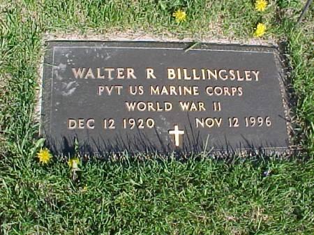 BILLINGSLEY, WALTER R. - Henry County, Iowa   WALTER R. BILLINGSLEY