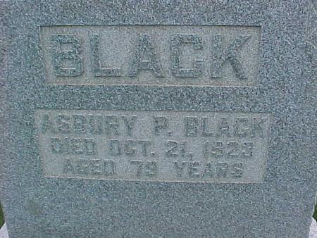 BLACK, ASBURY - Henry County, Iowa | ASBURY BLACK