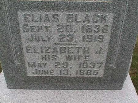 BLACK, ELIAS - Henry County, Iowa | ELIAS BLACK