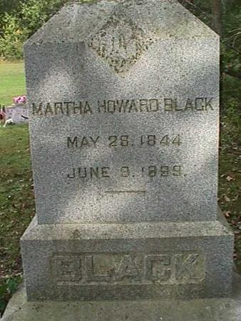 HOWARD BLACK, MARTHA - Henry County, Iowa | MARTHA HOWARD BLACK