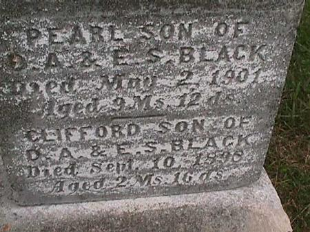 BLACK, PEARL - Henry County, Iowa | PEARL BLACK
