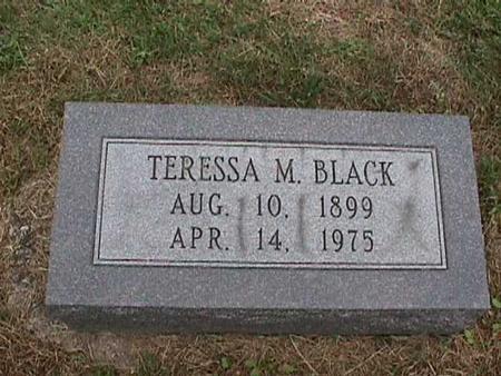 BLACK, TERESSA - Henry County, Iowa | TERESSA BLACK
