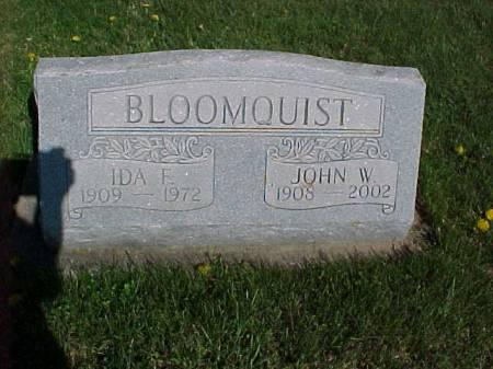 BLOOMQUIST, IDA F. - Henry County, Iowa | IDA F. BLOOMQUIST