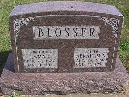BLOSSER, ABRAHAM - Henry County, Iowa | ABRAHAM BLOSSER