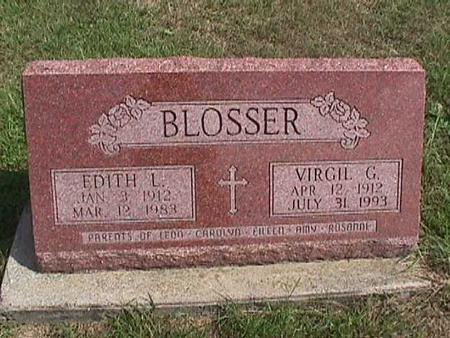 BLOSSER, VIRGIL - Henry County, Iowa | VIRGIL BLOSSER