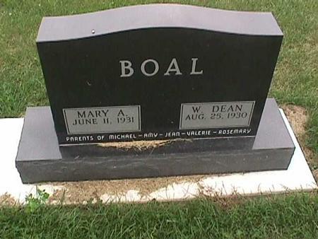 BOAL, W. DEAN - Henry County, Iowa | W. DEAN BOAL