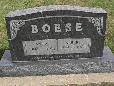 BOESE, ALBERT - Henry County, Iowa | ALBERT BOESE