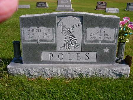 BOLES, GUY - Henry County, Iowa | GUY BOLES