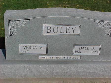 BOLEY, DALE D. - Henry County, Iowa | DALE D. BOLEY