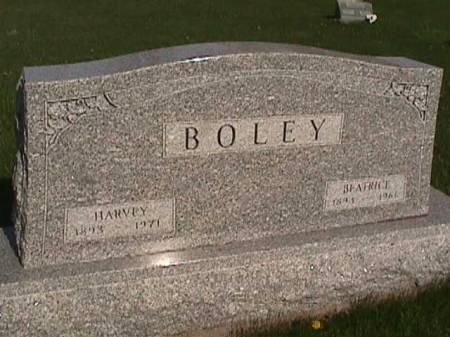 BOLEY, HARVEY - Henry County, Iowa   HARVEY BOLEY