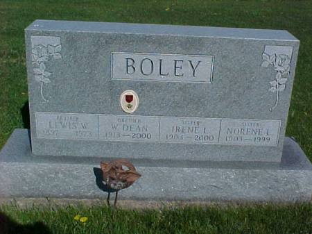 BOLEY, LEWIS W. - Henry County, Iowa | LEWIS W. BOLEY