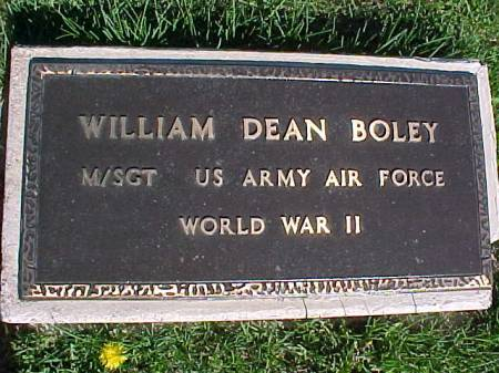 BOLEY, WILLIAM DEAN - Henry County, Iowa | WILLIAM DEAN BOLEY
