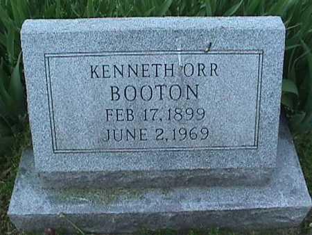 BOOTON, KENNETH ORR - Henry County, Iowa   KENNETH ORR BOOTON