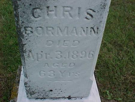BORMANN, CHRIS - Henry County, Iowa | CHRIS BORMANN