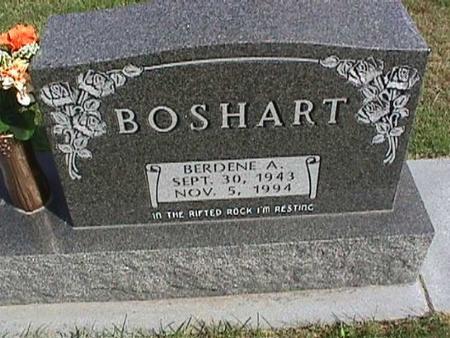BOSHART, BERDENE - Henry County, Iowa | BERDENE BOSHART