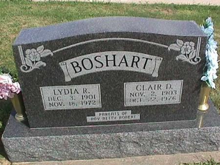 BOSHART, LYDIA - Henry County, Iowa | LYDIA BOSHART