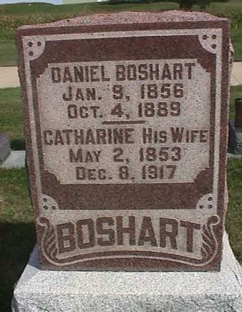 BOSHART, CATHARINE - Henry County, Iowa   CATHARINE BOSHART