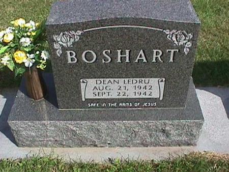 BOSHART, DEAN LEDRU - Henry County, Iowa | DEAN LEDRU BOSHART