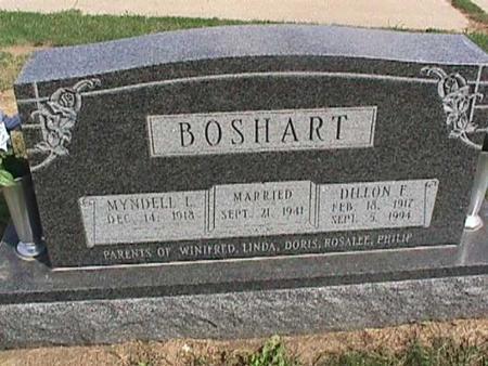 BOSHART, DILLON F. - Henry County, Iowa | DILLON F. BOSHART