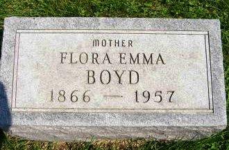 BOYD, FLORA EMMA - Henry County, Iowa | FLORA EMMA BOYD