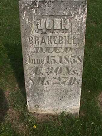 BRAKEBILL, JOHN - Henry County, Iowa | JOHN BRAKEBILL