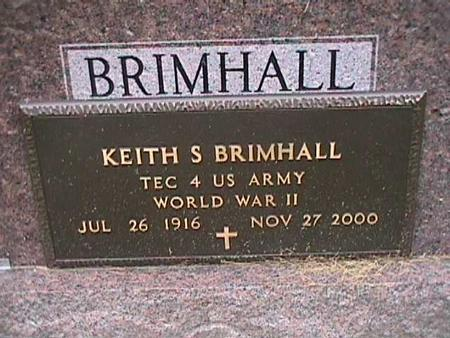 BRIMHALL, KEITH S. - Henry County, Iowa | KEITH S. BRIMHALL