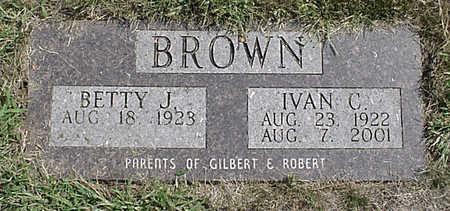 BROWN, IVAN C. - Henry County, Iowa   IVAN C. BROWN