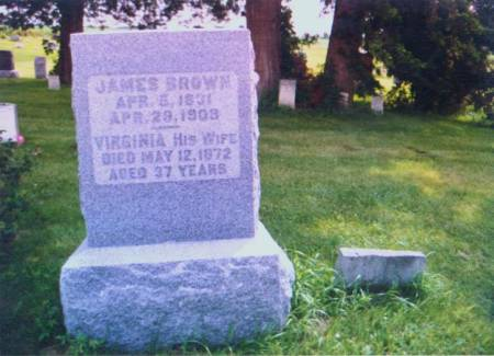 BROWN, JAMES & VIRGINIA A. - Henry County, Iowa | JAMES & VIRGINIA A. BROWN