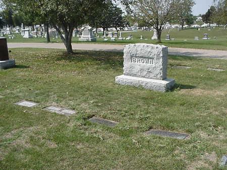 BROWN, PLOT - Henry County, Iowa | PLOT BROWN
