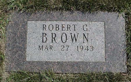 BROWN, ROBERT G. - Henry County, Iowa | ROBERT G. BROWN