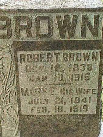BROWN, ROBERT - Henry County, Iowa | ROBERT BROWN