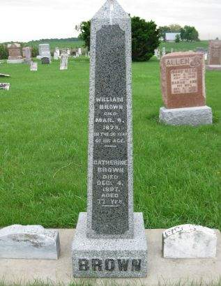 BROWN, CATHERINE - Henry County, Iowa | CATHERINE BROWN