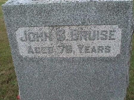 BRUISE, JOHN S - Henry County, Iowa | JOHN S BRUISE