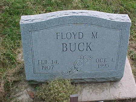 BUCK, FLOYD M. - Henry County, Iowa | FLOYD M. BUCK