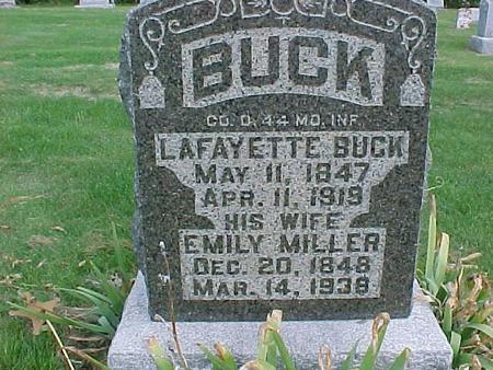 BUCK, EMILY - Henry County, Iowa | EMILY BUCK