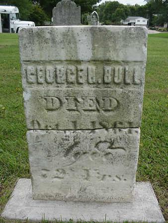 BULL, GEORGE H. - Henry County, Iowa | GEORGE H. BULL