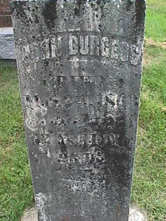 BURGESS, JOHN - Henry County, Iowa | JOHN BURGESS