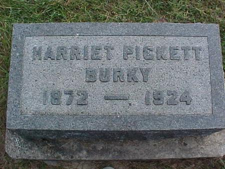 BURKY, HARRIET - Henry County, Iowa | HARRIET BURKY