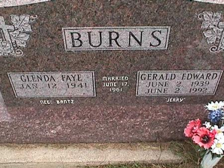 BURNS, GERALD - Henry County, Iowa   GERALD BURNS