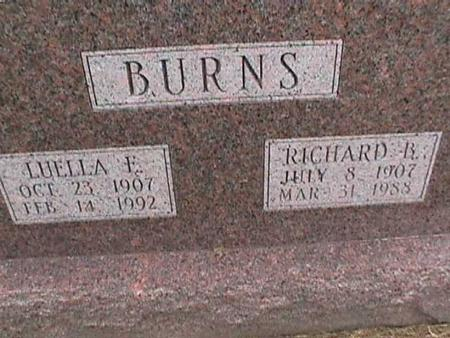 BURNS, RICHARD B. - Henry County, Iowa | RICHARD B. BURNS