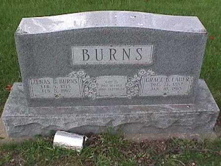 BURNS, ZENAS B - Henry County, Iowa | ZENAS B BURNS