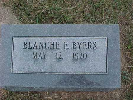 BYERS, BLANCHE - Henry County, Iowa | BLANCHE BYERS