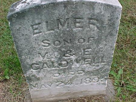 CALDWELL, ELMER - Henry County, Iowa   ELMER CALDWELL